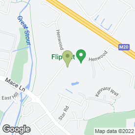 Map of Retainagroup Ltd in Ashford, kent