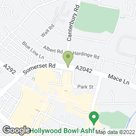 Map of Welcome V I P Services Ltd in Ashford, kent