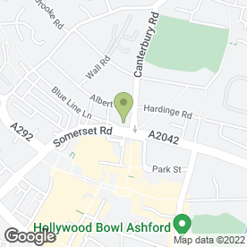 Map of Andrews Auto Engineers in Ashford, kent
