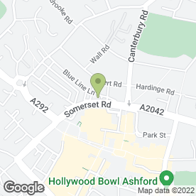 Map of The Beauty Room in Ashford, kent