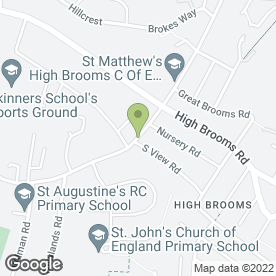 Map of P.S Plant Hire in Tunbridge Wells, kent