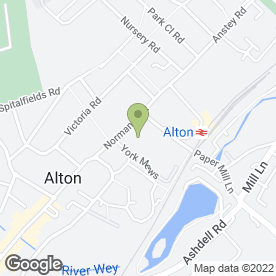 Map of Alton House Hotel in Alton, hampshire