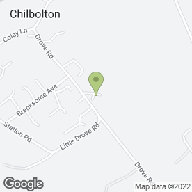 Map of Andy Morris Driving School in Chilbolton, Stockbridge, hampshire