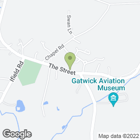 Map of Sws Leisure in Charlwood, Horley, surrey