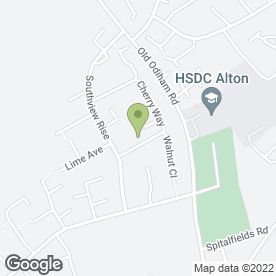 Map of Simon King Plastering Service in Alton, hampshire