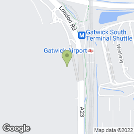 Map of McDonald's Restaurants Ltd in London Gatwick Airport, Gatwick, west sussex