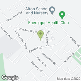 Map of EC Craft Fairs in Alton, hampshire