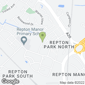 Map of Paul Spencer Plumbing & Household Maintenance in Ashford, kent