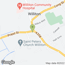 Map of NatWest Bank plc in Williton, Taunton, somerset