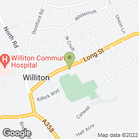 Map of Tracian Business Development in Williton, Taunton, somerset