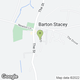 Map of TOAST in Barton Stacey, Winchester, hampshire