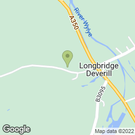 Map of Tim Davis Plant Hire in Longbridge Deverill, Warminster, wiltshire