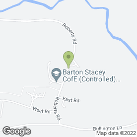 Map of Inspired Childcare in Barton Stacey, Winchester, hampshire
