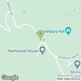 Map of Hurtwood House School in Holmbury St. Mary, Dorking, surrey