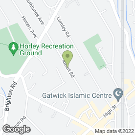 Map of Sports Karate Federation in Horley, surrey
