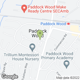 Map of MSD Architects in Paddock Wood, Tonbridge, kent