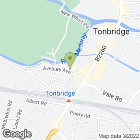Map of Lifestyle Ford in Tonbridge, kent