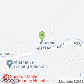 Map of Advanced Tree Services in Bowlish, Shepton Mallet, somerset