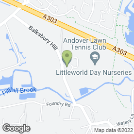 Map of Point 2 Point Andover Ltd in Upper Clatford, Andover, hampshire