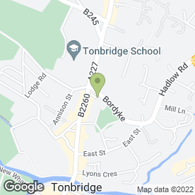 Map of Tonbridge Flooring Studio in Tonbridge, kent