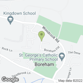 Map of Courier Expert Sameday 24/7 in Warminster, wiltshire