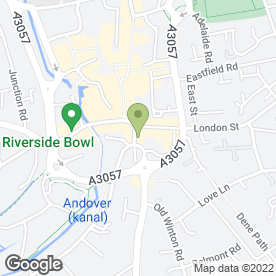 Map of Lloyds TSB Business Banking in Andover, hampshire
