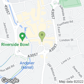 Map of Bengal Indian Takeaway in Andover, hampshire
