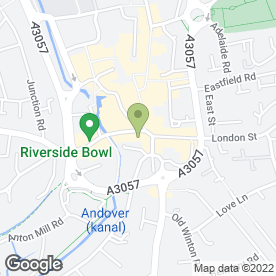 Map of NatWest Bank plc in Andover, hampshire