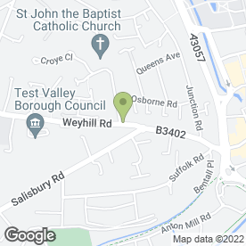 Map of Oasis Dental Care Ltd in Andover, hampshire