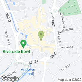 Map of Visual Distraction Beauty Rooms in Andover, hampshire