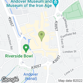 Map of Caffe Nero in Andover, hampshire