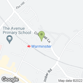 Map of Fountain Drinks Western in Warminster, wiltshire