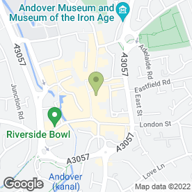 Map of Lloyds TSB Bank plc in Andover, hampshire