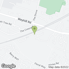 Map of Strongbond Painting Specialists Ltd in Colebrook Way, Andover, hampshire