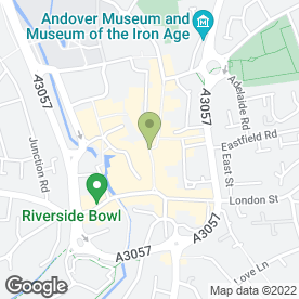 Map of Greggs in Andover, hampshire