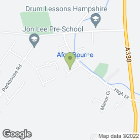 Map of The Fondant Fairy in Shipton Bellinger, Tidworth, hampshire