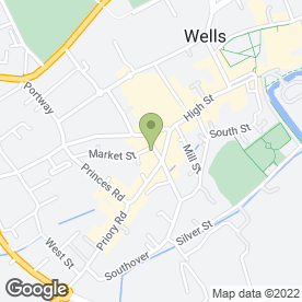 Map of Protec Security Specialists in Wells, somerset