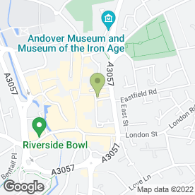 Map of Beauty Within in Andover, hampshire