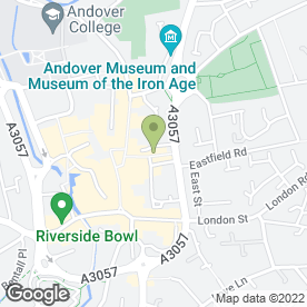 Map of The Baguette De Moet in Andover, hampshire