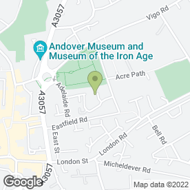 Map of ANDREW HOWELL in Andover, hampshire