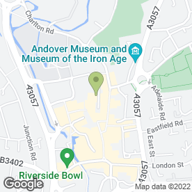 Map of Boswells Cafe in Andover, hampshire