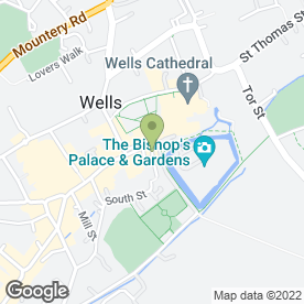 Map of Karen Christensen Hair & Beauty in Wells, somerset