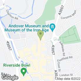 Map of Golden Dragon in Andover, hampshire