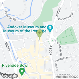 Map of Light of Asia Restaurant in Andover, hampshire