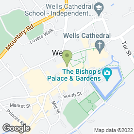 Map of Cafe Romna in Wells, somerset