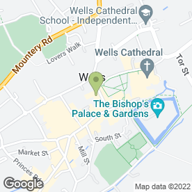 Map of In Harmony in Wells, somerset