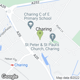 Map of Next Door in Charing, Ashford, kent