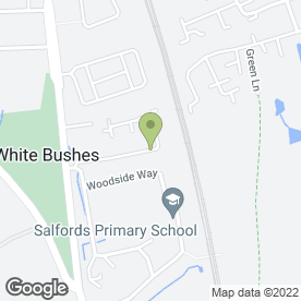 Map of Surrey Weald Dog Training Club in Redhill, surrey