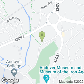 Map of Sainsbury's Supermarkets Ltd in Andover, hampshire