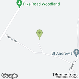 Map of Polumbo in Tilmanstone, Deal, kent